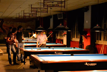 Pool in Club 8